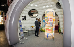 Exhibition structures